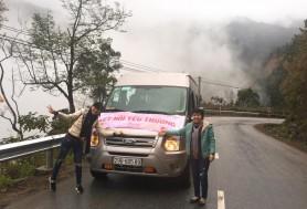 Thuê xe đi từ thiện cho trường học